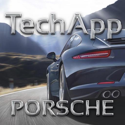 TechApp для Porsche