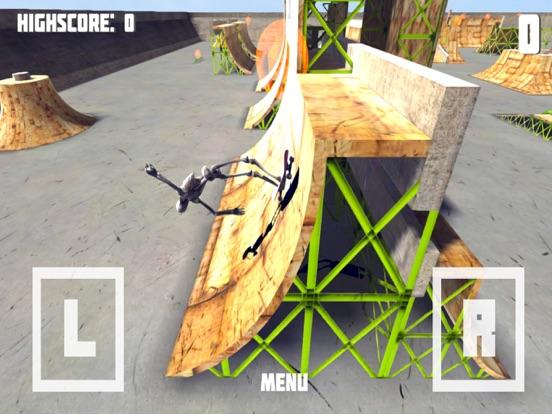 Скелет Скейтборд - Необычное Скейтборд игры! на iPad