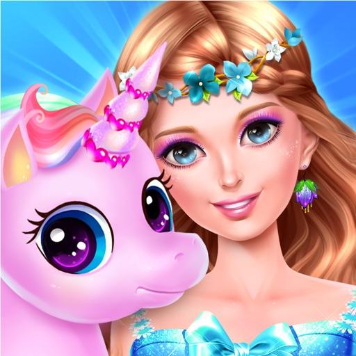 Fairy Princess Unicorn Caring - Magic Pet Palace iOS App
