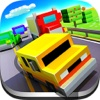 Pixel car racer : 8-bit Blocky Car Racing racer racing road