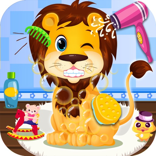 Baby Lion Salon & Dress Up Games iOS App