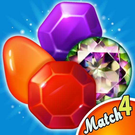 Gem Land : Match 4 iOS App