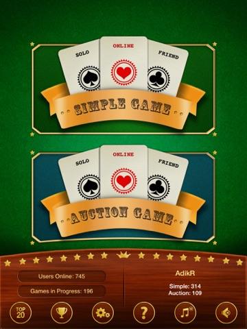 Batak - карточная игра для iPad