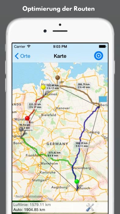 Iphone Here Route Mehrere Ziele