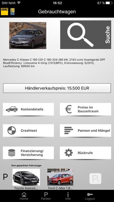 adac gebrauchtwagen im app store. Black Bedroom Furniture Sets. Home Design Ideas