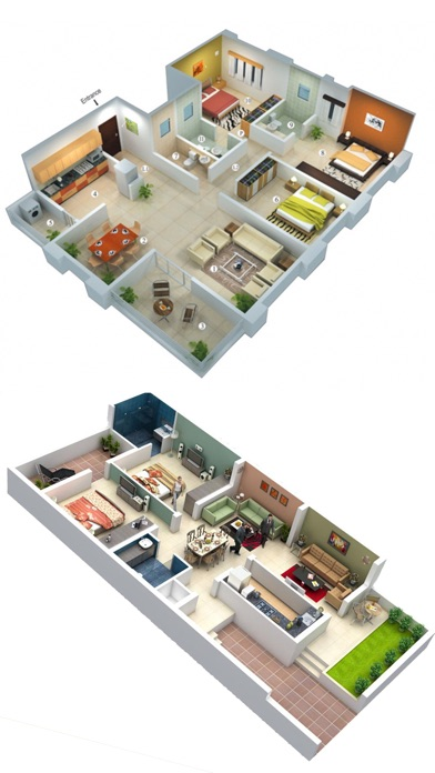 Home designs interior 3d app download android apk Interior design app android