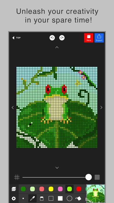 Extrêmement Pixel art editor - Dottable - on the App Store BV72