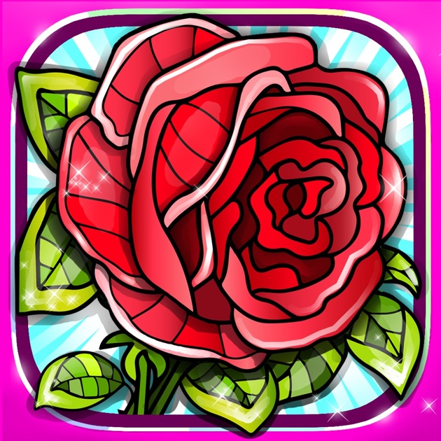 rose coloring pages games free - photo#22