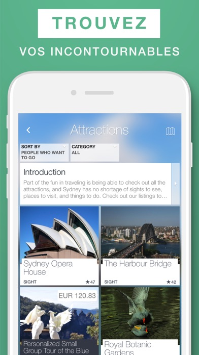 Sydney – guide de voyage & carte offlineCapture d'écran de 2