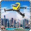 Drone Taxi Flight Simulator: Zombie City
