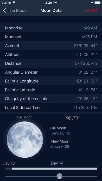 download The Moon - Calendar phase of Moon free apps 1