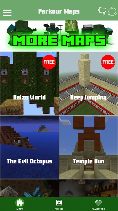 Parkour Quest Maps For Minecraft Pe Pocket Edition review screenshots