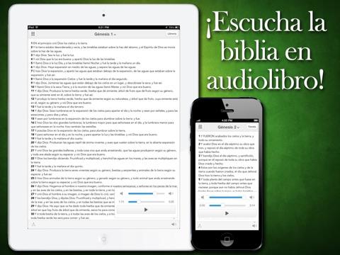Biblia Reina Valera Audiolibro screenshot 1