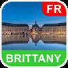 Bretagne, France Carte - PLACE STARS