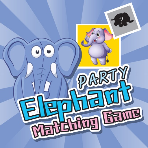 Elephant Jungle Matching Puzzle for Kids iOS App