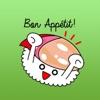 Cute Sushi Emoji Sticker