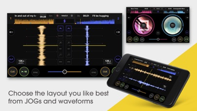 WeDJ for iPhone Screenshots