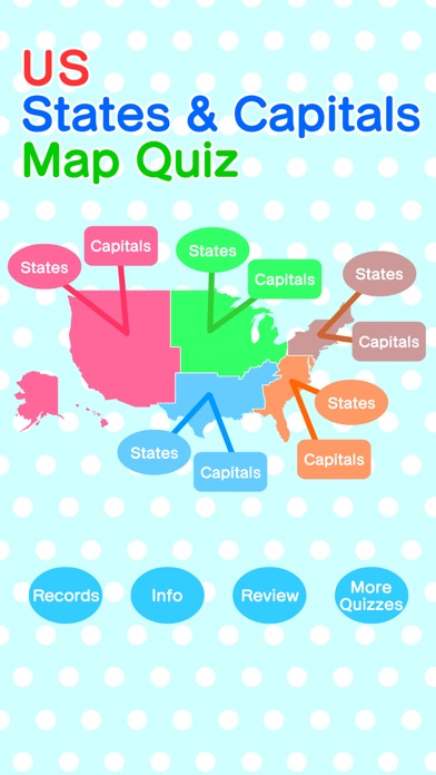 US States Capitals Map Quiz On The App Store - Us capitals map quiz