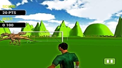 Screenshot of Calcio di rigore con Dinosauri-un gioco di simulaz4