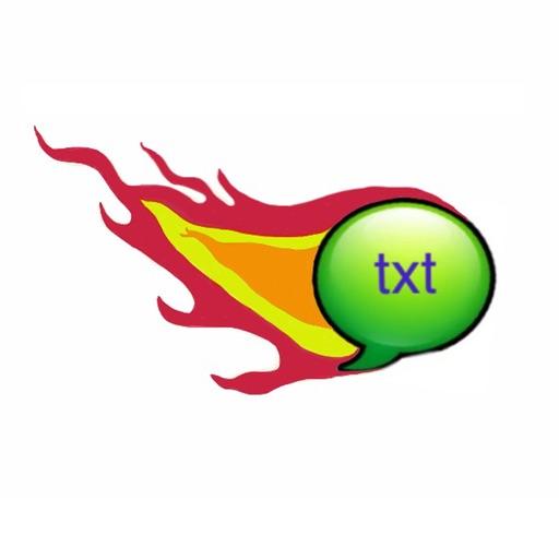 Fire Text iOS App