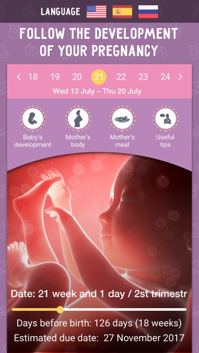 download Pregnancy app and Baby Tracker apps 3