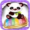 panda bambini xilofono