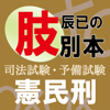 辰已の肢別本(平成28年版)憲民刑 上三法パック