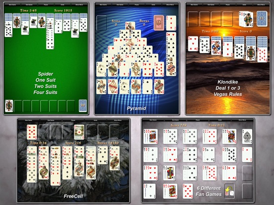 Screenshot #2 for Solitaire City (Ad Free)