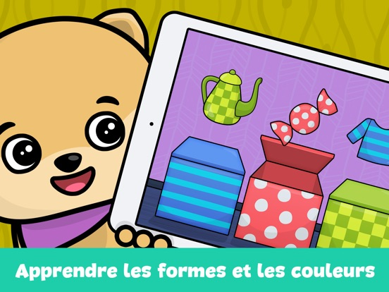 jeux de bebe et enfant 2 4 ans dans l app store. Black Bedroom Furniture Sets. Home Design Ideas