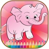 animal coloring page for kids electronic book format