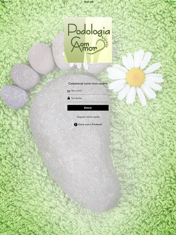 Screenshot #1 for Podologia com Amor