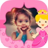 Fairy princess photo frame per le ragazze - album