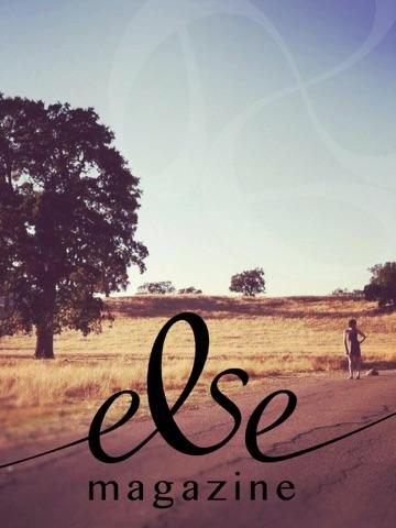 Screenshot of Else Magazine