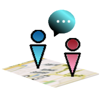 Handy-Tracker und Chat : IM Map Navigator