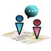 Localisation et messagerie sur téléphone portable