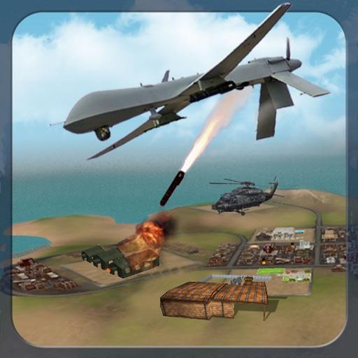 Real Drone Fighter Simulator : Air dash Attack iOS App