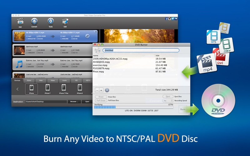 Screenshot #3 for Total Video Converter Pro