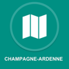 Champagne-Ardenne, France : Offline GPS Navigation App