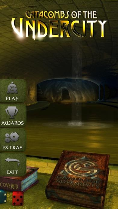 Gamebook Adventures 5: Catacombs of the Undercity Screenshot