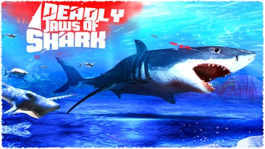 deadly jaws of shark deadly shark attack games on the app store iphone screenshot 1
