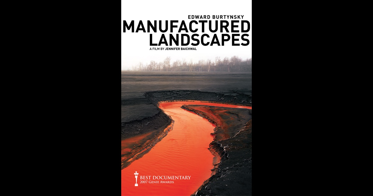 manufactured landscapes Manufactured landscapes (90 mins, 12a) directed by jennifer baichwal there is a terrible beauty about manufactured landscapes, a documentary by jennifer baichwal on the work of her fellow .