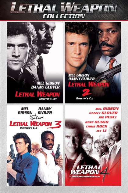 lethal weapon movie collection a movie collection on itunes