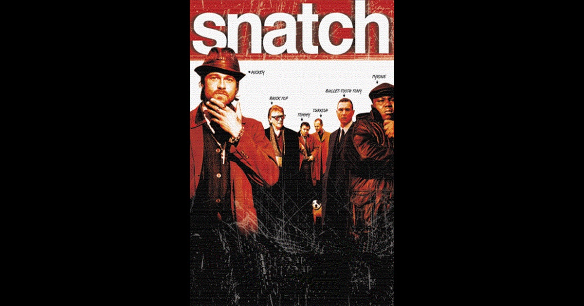 an analysis of the topic of the movie snatch directed by guy ritchie
