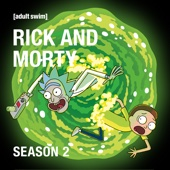 Rick and Morty, Season 2 (Uncensored) - Rick and Morty Cover Art