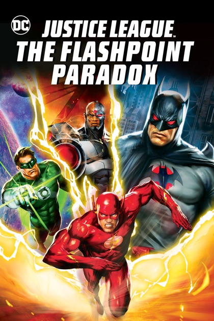 justice league the flashpoint paradox on itunes