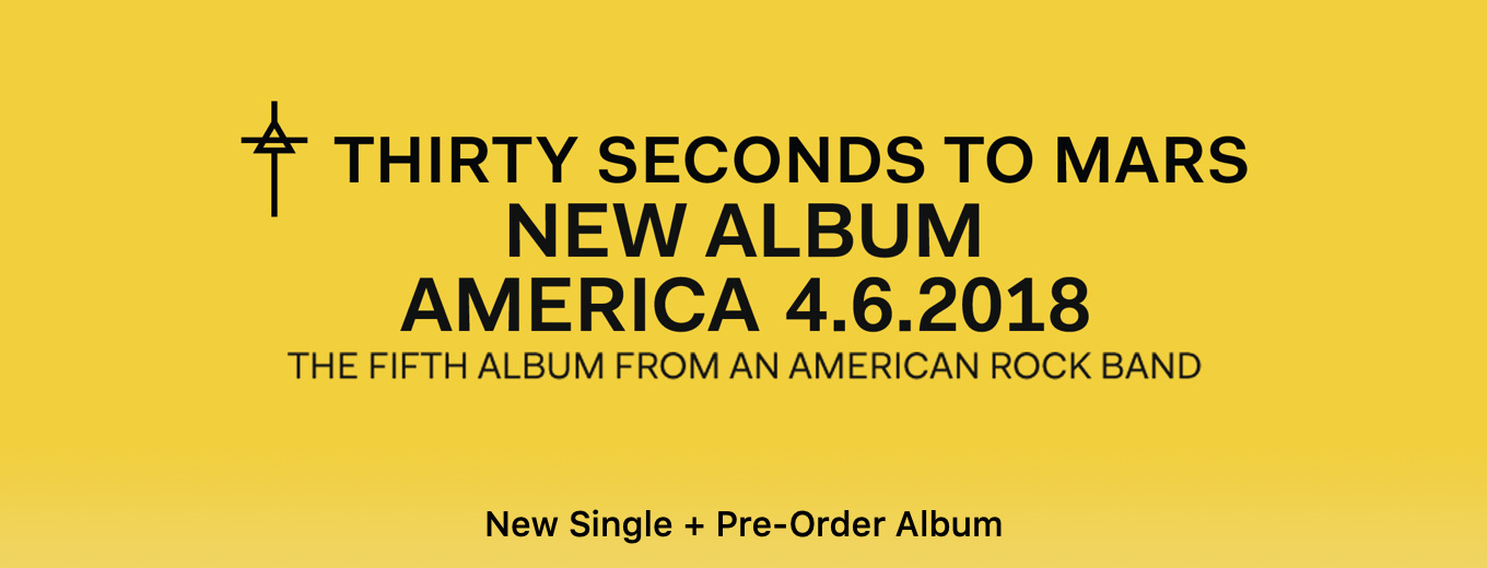 The New Album by Thirty Seconds to Mars